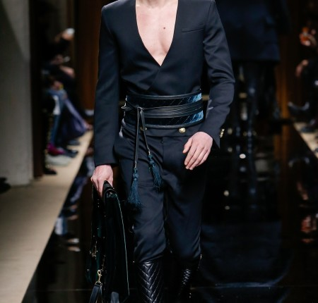 Balmain Men's Fall 2016 Runway