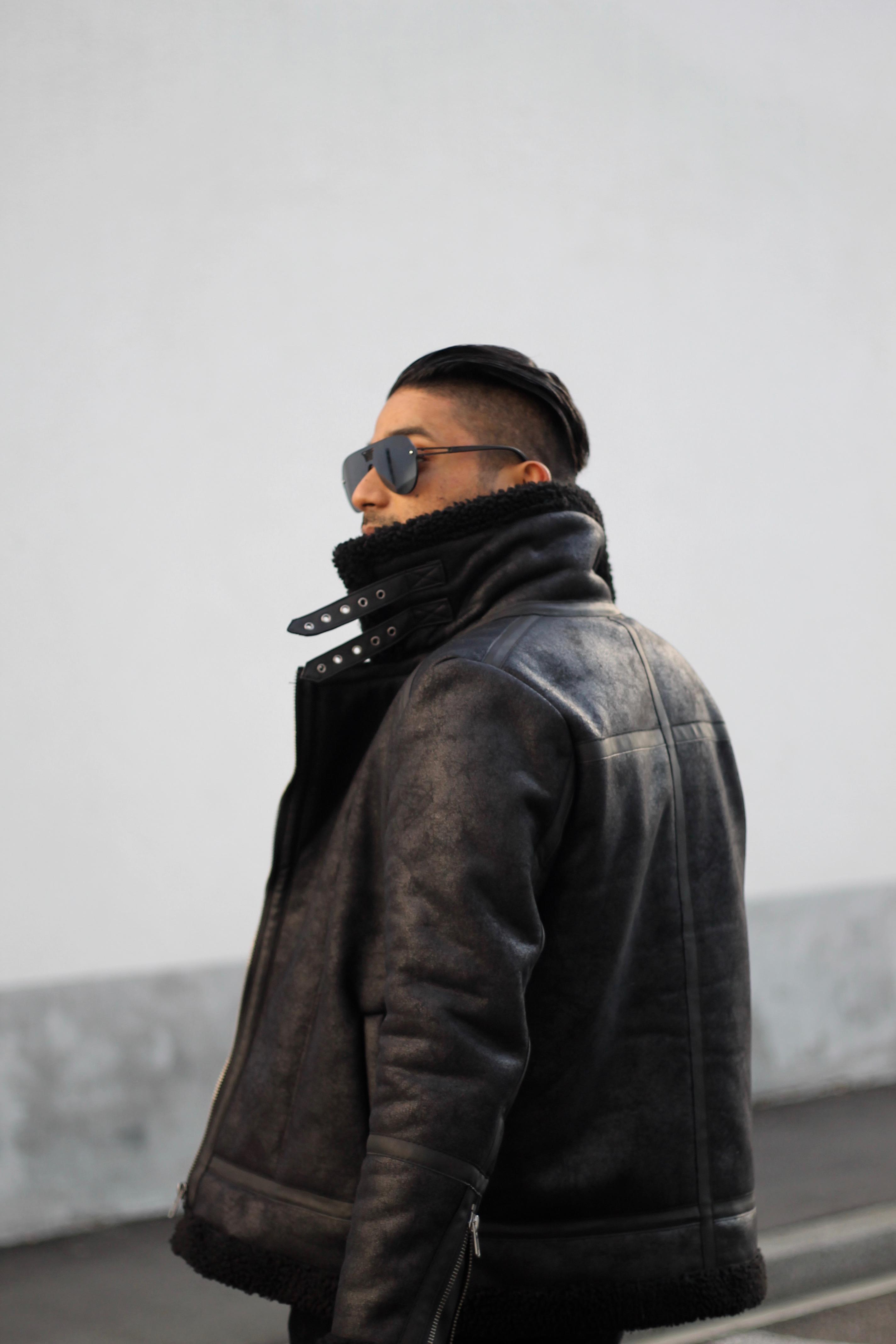 ENDOXIST | Menswear Blogger | Street Style | Aviator Teddy Jacket | Switzerland