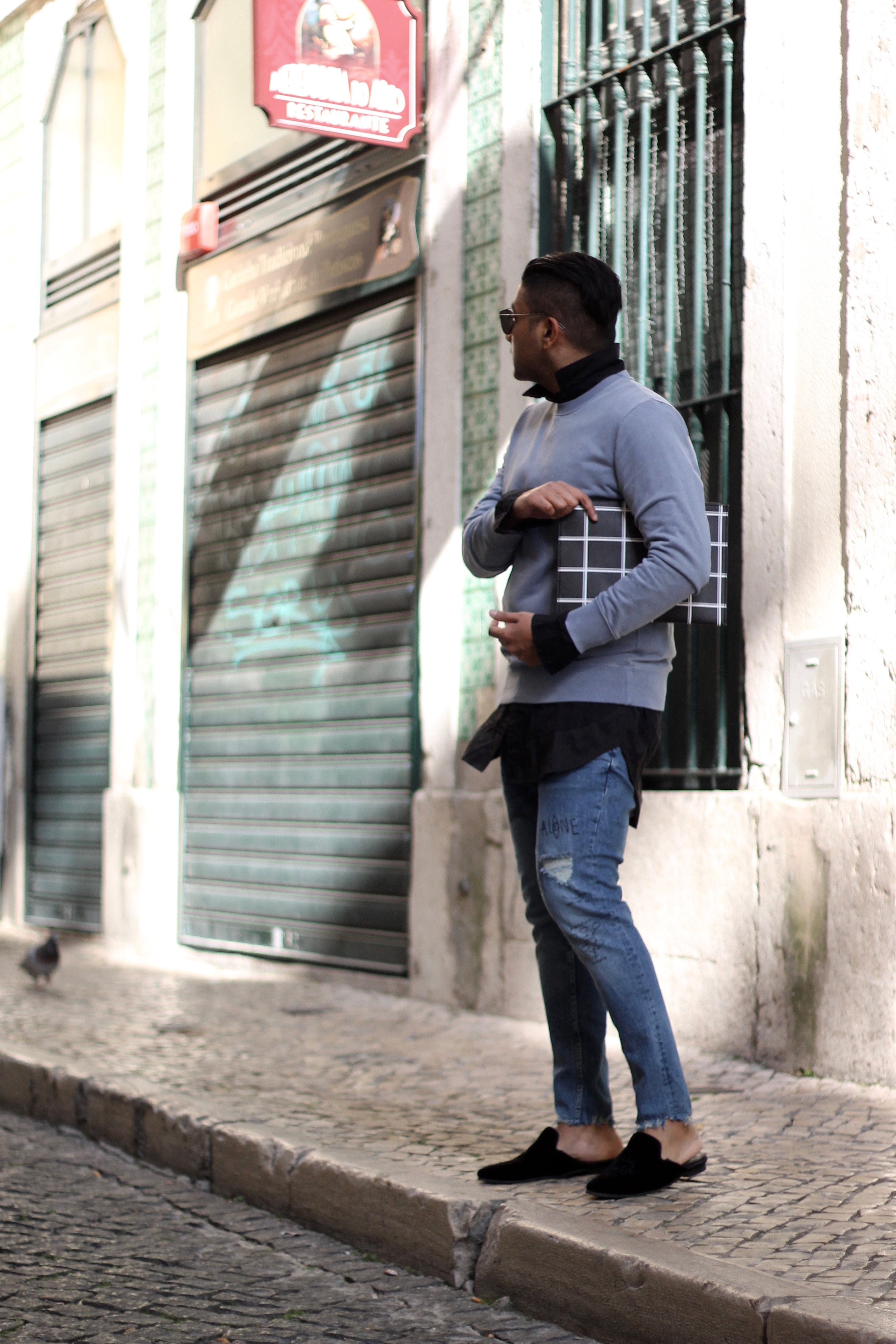 ENDOXIST | Menswear Blogger | Street Style | Reacting To Being Judged | Lisbon